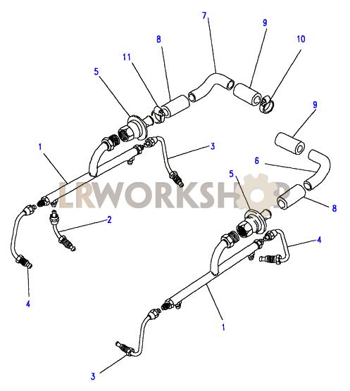 air manifold - v8 3 5l carburetter