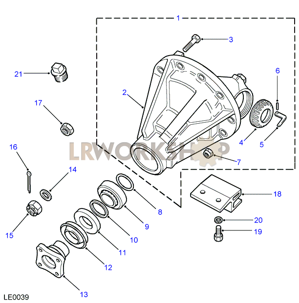 differential front - to ka930434