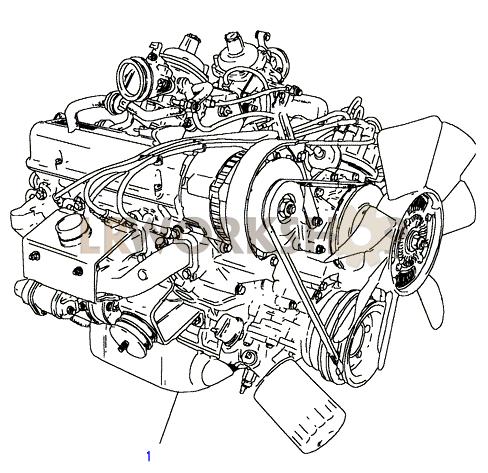 Engine Complete - V8 3.5L Carburetter - Find Land Rover ...