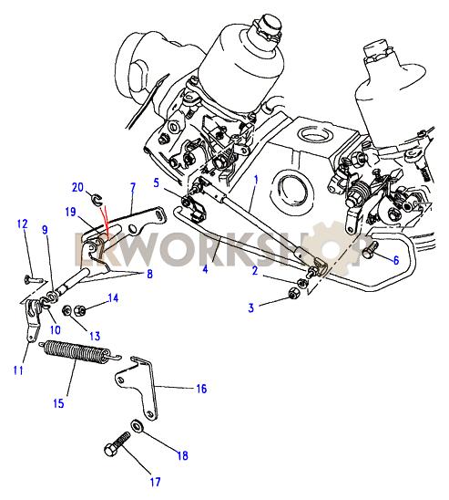 Throttle Linkage-su - V8 3 5l Carburetter
