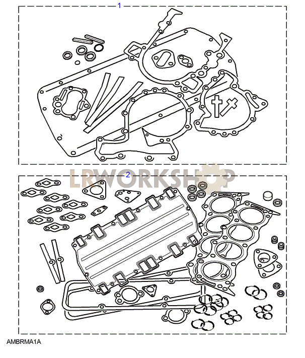 1998 Land Rover Range Rover Head Gasket: Find Land Rover Parts At LR