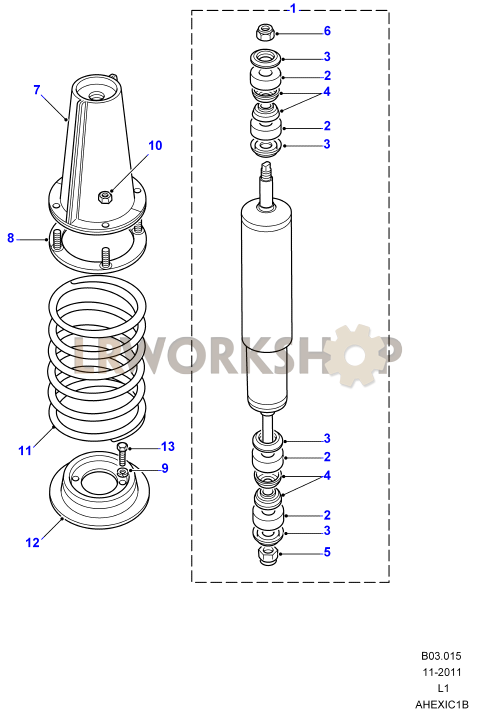 Shock Absorbers  U0026 Springs