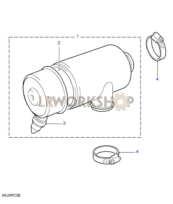 air filter - bmw m52