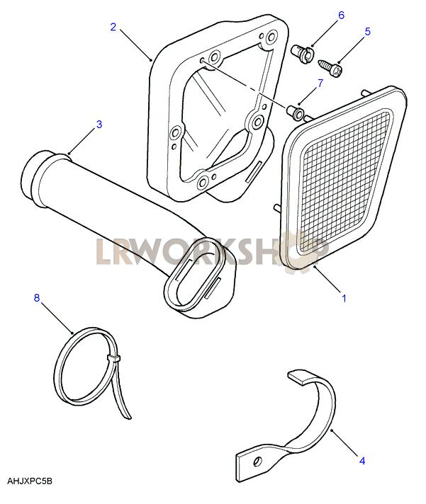 Air Intake Part Diagram: Land Rover Defender Wiring Diagram 300tdi At Hrqsolutions.co