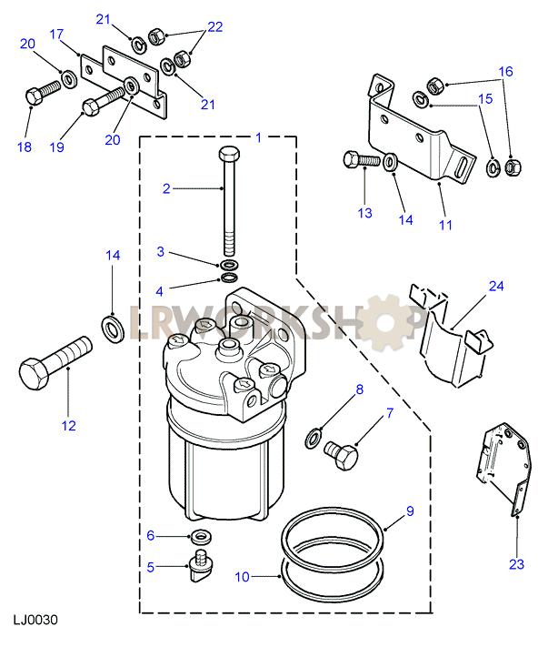 fuel sedimentor - 300tdi