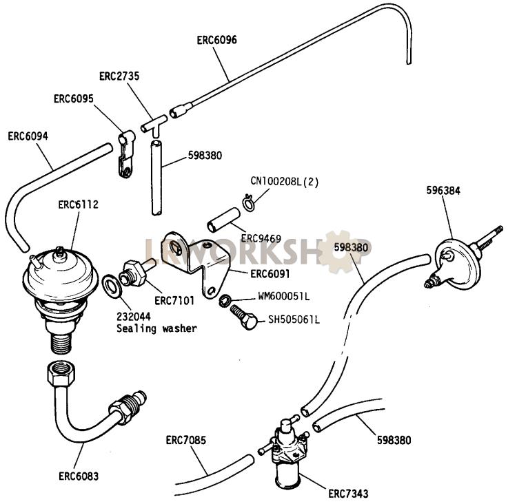 Egr Valve And Pipe - 2 25 Litre Petrol - European Detoxed
