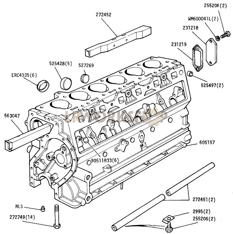 Cylinder Block - 2 6 Litre Petrol