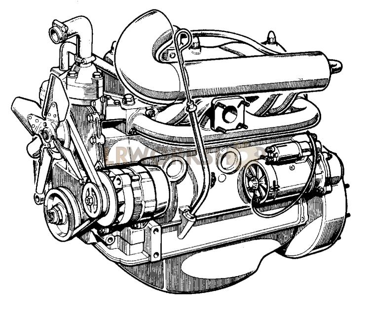 Complete Engine - 2 25 Litre Diesel