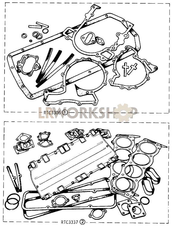 Gasket Kits - 109in V8