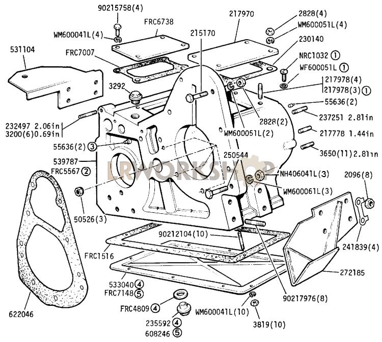 Level Plug 608246 Land Rover Defender Transfer Box Filler
