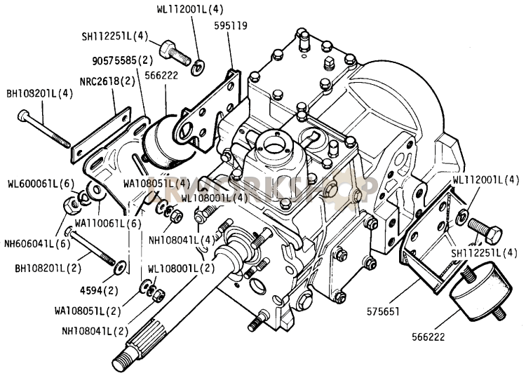 Rover V8 4 6