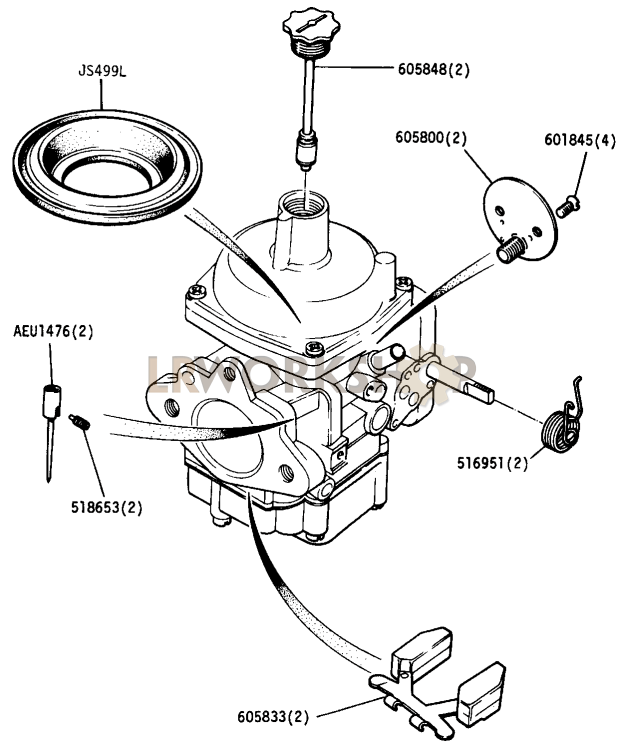 Carbureted Engine Diagram Engine Car Parts And Component Diagram