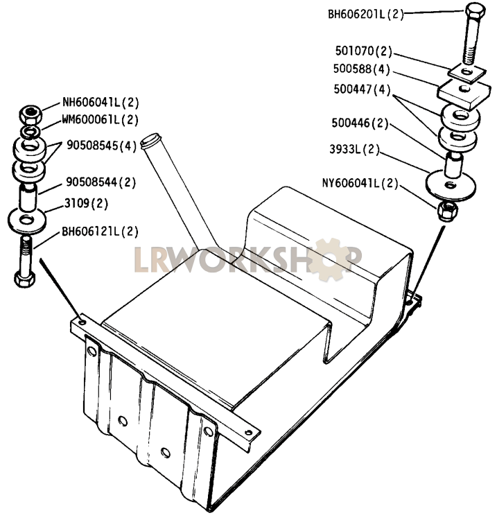 Petrol Fuel Tank Diagram