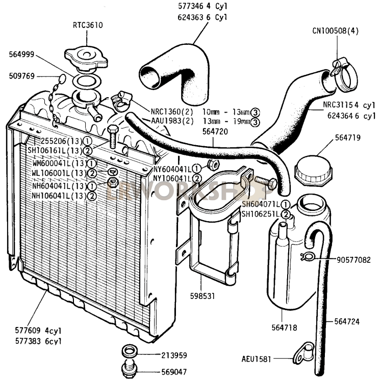 Radiator And Hoses