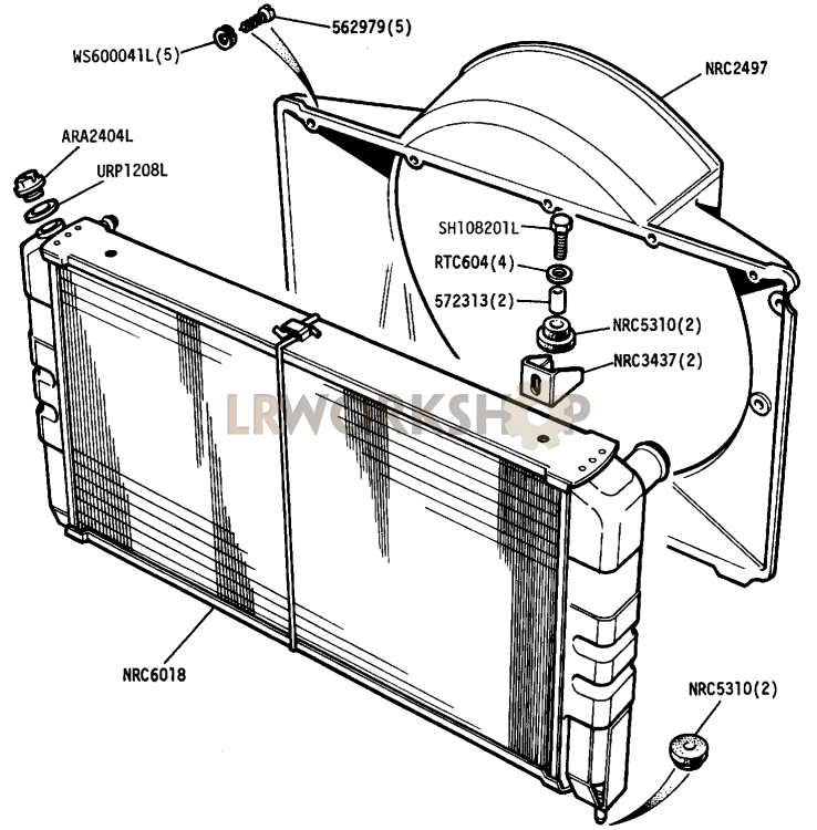 home radiator diagram