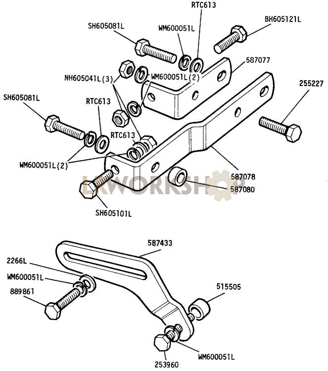 alternator mountings - 2 6 litre petrol