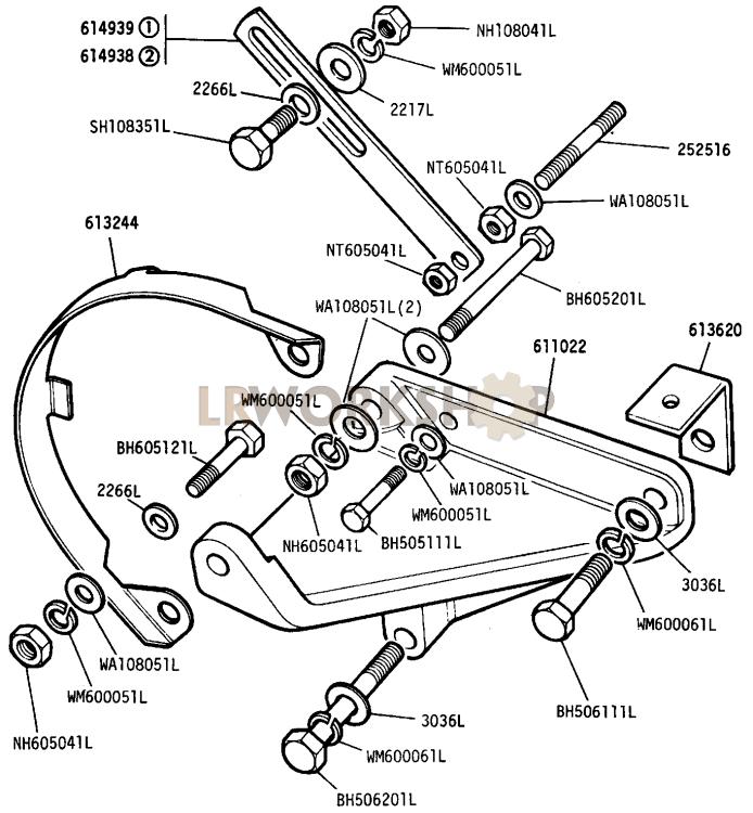 Alternator Brackets And Fixings