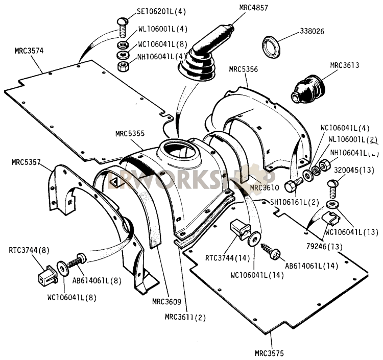 Rover 820 Wiring Diagram