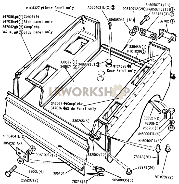 Rear Body Part Diagram: Sw Cooler Fuse Box At Teydeco.co