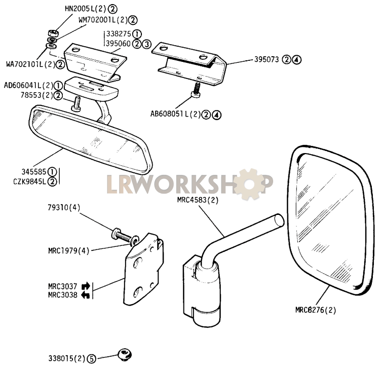 Land Rover Defender 90 Wiring Diagram