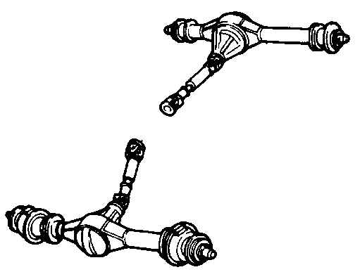 Series 3 - Axles and Suspension Diagrams