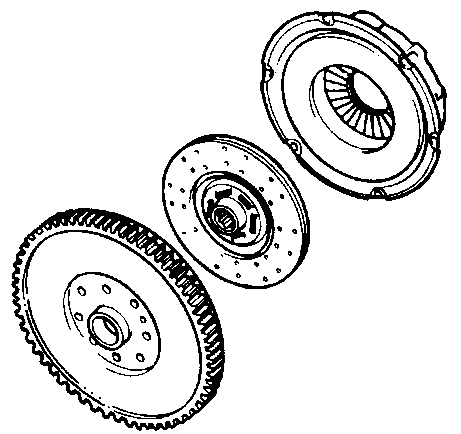 Flywheel and Clutch Diagrams