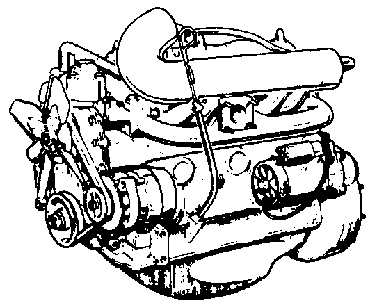 Land Rover Series 3 - Engine Diagrams