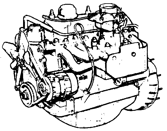 2.25 Litre Petrol Engine Diagrams