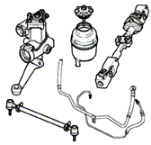 Lower Steering Column Diagrams