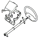 Upper Steering Column Diagrams