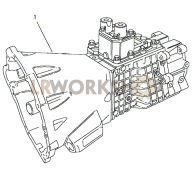 Gearbox Assembly Part Diagram