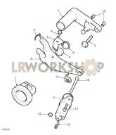 Clutch Release Mechanism Part Diagram