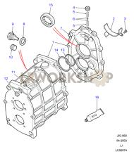 Gearcase Part Diagram
