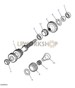Layshaft Part Diagram