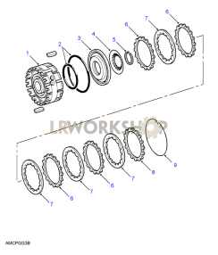 Brake D Part Diagram
