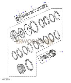 Clutch A Part Diagram