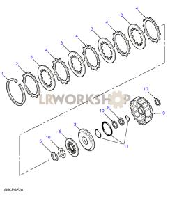 Clutch B Part Diagram