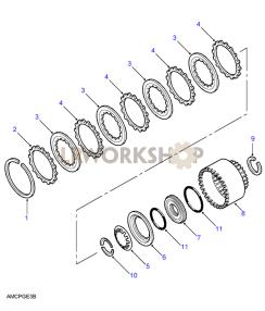 Clutch E Part Diagram