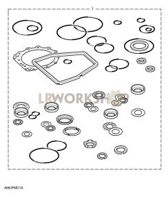 Service Kits Part Diagram