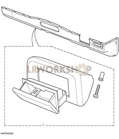 Aschenbecher, Auf Heizungskanal Part Diagram