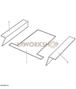 Teppiche, Boden Hinten Part Diagram