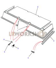 Teppiche, Sitzsockel Part Diagram
