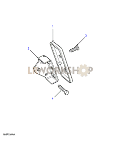 Footrest - Automatic Part Diagram