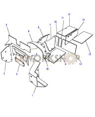 Isolierung, Turbo Diesel Part Diagram