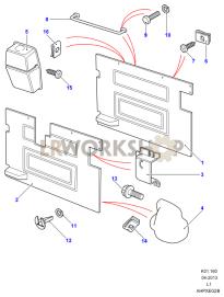 H.t.v. Part Diagram