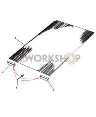 Gummimatten - Boden Hinten Part Diagram