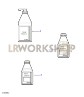 Hand Cleaners Part Diagram