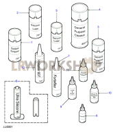 Sealants Part Diagram
