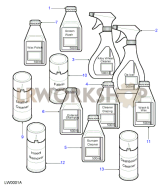 Car Care Products Part Diagram