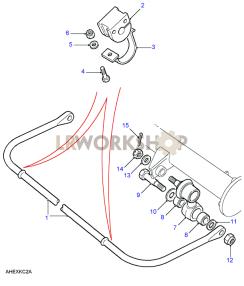 Anti Roll Bar Part Diagram